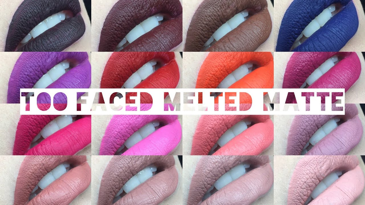 too faced melted liquid lipstick review